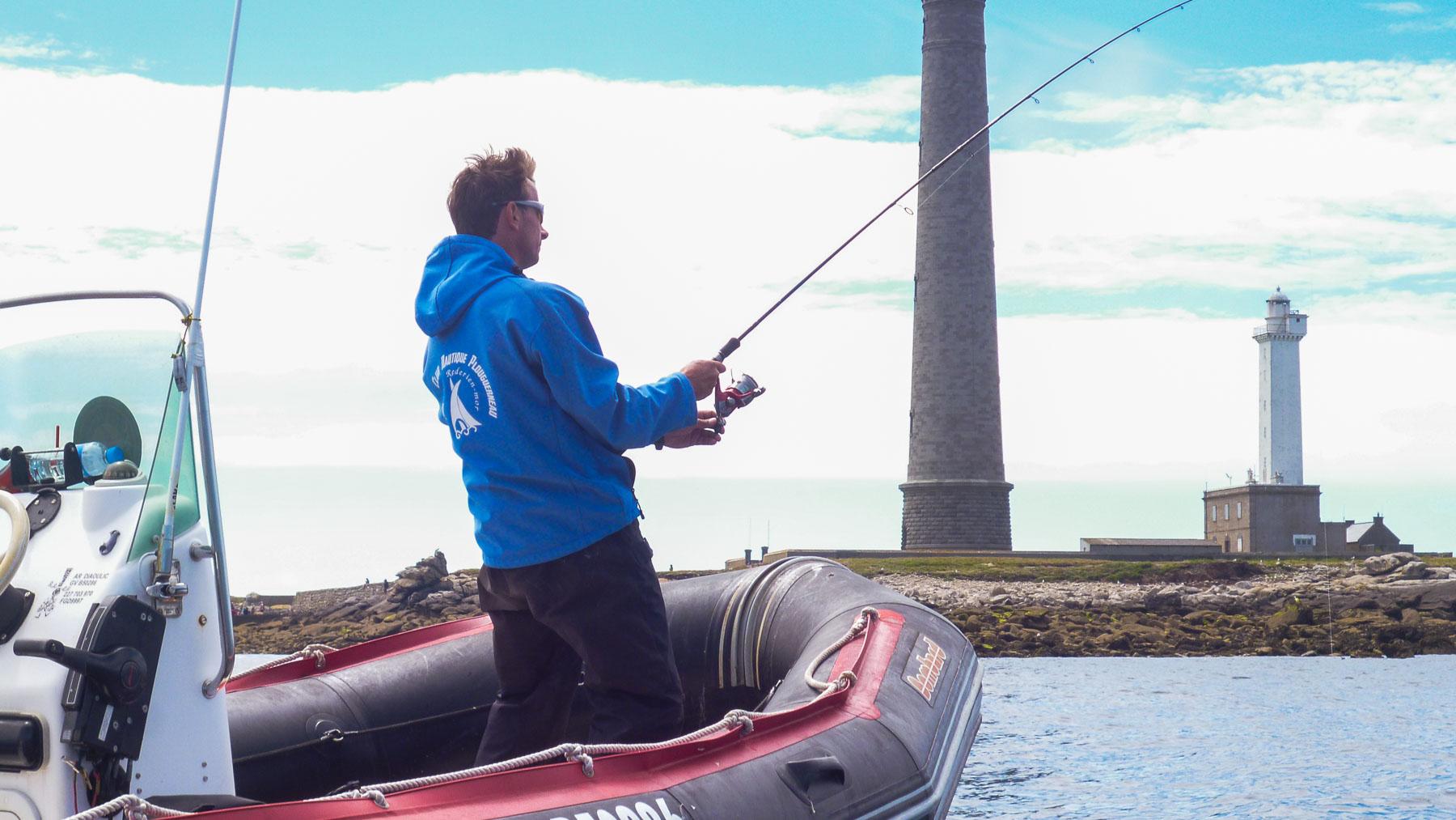 1h30 de pêche au lancer à Plouguerneau