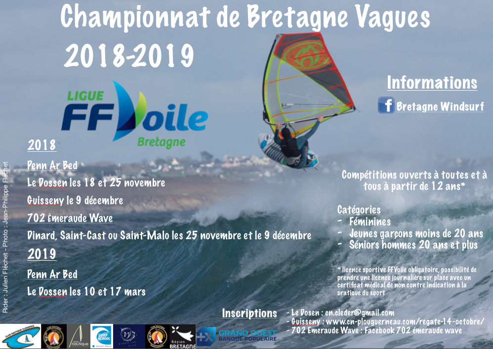 Championnat de Bretagne Vagues 2018-2019