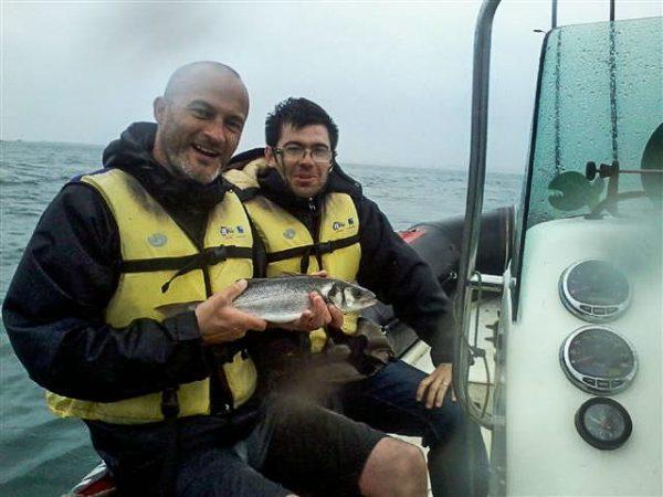 La pêche au lancer au Club Nautique de Plouguerneau
